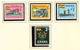 GHANA  -  1958 Independence Set Unmounted/Never Hinged Mint - Ghana (1957-...)
