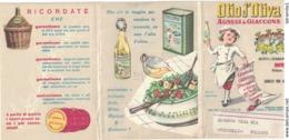 CARTOLINA POSTALE CARTE POSTALE OLIO DI OLIVA AGNESI & GIACCONE IMPERIA - Pubblicitari