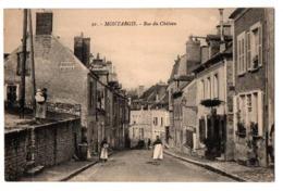 MONTARGIS RUE DU CHATEAU ANIMEE - Montargis