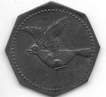 *notgeld Lorrach 10  Pfennig 1917 Zn    F 303.2a - [ 2] 1871-1918 : Empire Allemand