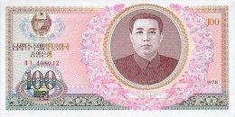 Korea North 100 Won 1978 Pick 22 UNC - Corea Del Nord