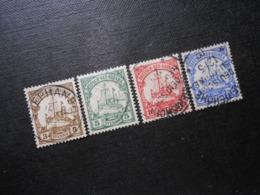 "D.R.Mi 7-10 -  Deutsche Kolonien (Neuguinea) - 1900 - Geprüft Jäschke - Stempel ""Herbertshöhe"" + ""Stephansort"" - Colonia: Nueva Guinea"