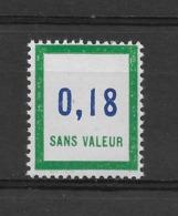 Fictif N° 161 De 1964 ** TTBE - Cote Y&T 2019 De 1,50 € - Phantomausgaben