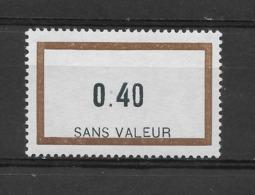 Fictif N° 162 De 1964 ** TTBE - Cote Y&T 2019 De 1,50 € - Phantomausgaben