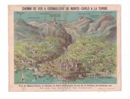 CHEMIN DE FER  A CREMAILLERE DE MONTECARLO A LA TURBIE - Livres, BD, Revues