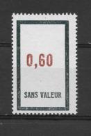 Fictif N° 163 De 1964 ** TTBE - Cote Y&T 2019 De 1,00 € - Phantomausgaben