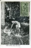 47928 Papua  New Guinea, Maximum 1960   1'6 Showing A Rubber Tapping, Papua - Papua New Guinea