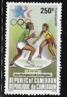 Cameroun Cameroon 1984 Summer Olympics Olympic Handball MNH - Cameroon (1960-...)