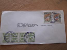 Enveloppe Paraguay Distribuée Avec Beaucoup De Timbres 1995 - Paraguay