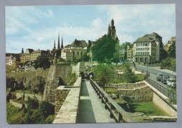 LU.- LUXEMBOURG. Les Vestiges Des Rochers Du Bock. LUXEMBURG. - Luxemburg - Stad
