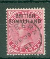 Somaliland Protectorate: 1903   QV 'British Somaliland' OVPT   SG2    1a   Used - Somaliland (Herrschaft ...-1959)