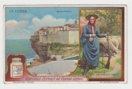 AB057 - CHROMO LIEBIG - LA CORSE - Bonifacio - Une Bergère Corse - Liebig