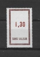 Fictif N° 166 De 1964 ** TTBE - Cote Y&T 2019 De 1,00 € - Phantomausgaben
