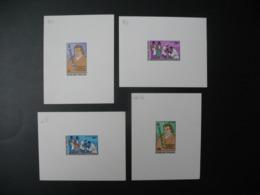 Togo  épreuve De Luxe  N°  912 - 913 + PA 336 - 337   Eradication Mondiale De La Variole  Edouard Jenner - Togo (1960-...)