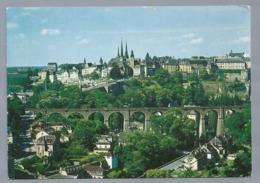 LU.- LUXEMBOURG. LUXEMBURG. Viaduc De Claussen Et Ville Haute Klausener Brucke Und Oberstadt - Luxemburg - Stad