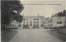 Loverval  *  Façade Principale Du Chateau De M. Le Comte Werner De Mérode - Gerpinnes