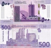 SUDAN       500 Sudanese Pounds      P-New       3.2019      UNC - Sudan