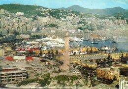 - GENOVA. - Vedufa Aerea. La Lanterna Con Lo Sfondo Del Porto. - Scan Verso - - Genova (Genoa)