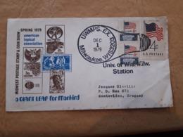 Enveloppe USA Distribuée Avec Cachet Spécial, Ampoule - Electricidad