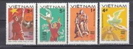 Vietnam 1985 - 40th Anniversary Of The End Of World War II, Mi-Nr. 1562/65, MNH** - Vietnam