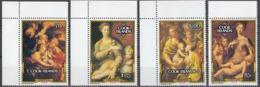 ISOLE COOK - 1992 - Serie Completa Formata Da 4 Valori Nuovi MNH: Yvert 1067/1070 Con Margini E Angoli; Natale - Cook