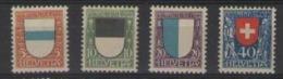SVIZZERA 1922 PRO JUVENTUTE UNIF. 188-191 MNH XF - Nuovi
