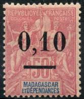 Madagascar (1902) N 53I  * (charniere) - Non Classés