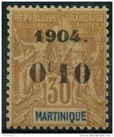 Martinique (1904) N 54 * (charniere) - Martinique (1886-1947)
