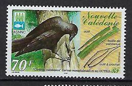 """Nle-Caledonie YT 843 """" Corbeau """" 2001 Neuf** - Neukaledonien"""