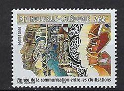 """Nle-Caledonie YT 848 """" Civilisations """" 2001 Neuf** - New Caledonia"""