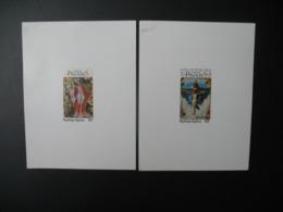 Togo  épreuve De Luxe  N°   PA 248 - 249    Tableaux  Pâques  1975 - Togo (1960-...)
