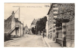 37 INDRE ET LOIRE - CONTINVOIR Entrée Du Bourg - France