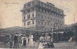 VARAZZE-SAVONA-GRAND HOTEL-ANIMATISSIMA-CARTOLINA VIAGGIATA IL 13-8-1925 - Savona