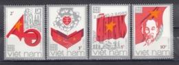 Vietnam 1985 - 40 Years Socialist Republic, Mi-Nr. 1600/03, Perforated, MNH** - Vietnam
