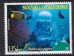 """Nle-Caledonie YT 852 """" Maison Sous-marine """" 2001 Neuf** - New Caledonia"""