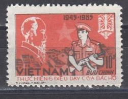 Vietnam 1985 - 40 Years Police, Mi-Nr. 1605, MNH** - Vietnam