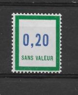 Fictif N° 173 De 1966 ** TTBE - Cote Y&T 2019 De 1,50 € - Phantomausgaben