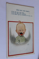 Enfant Open Day And Night 1925 - Cartes Humoristiques