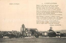 13581033 Pont-l_Eveque_Calvados Panorama Pont-l_Eveque_Calvados - Francia