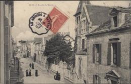 CPA 44 Batz Rue De La Mairie CAD Ambulant Le Croisic à Savenay 1907 Type C2 Mixte - Batz-sur-Mer (Bourg De B.)