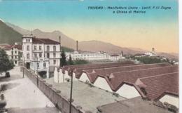 TRIVERO-BIELLA-MANIFATTURA LESNA-LANIFICIO ZEGNA-CARTOLINA NON VIAGGIATA -ANNO 1920-1930? - Biella