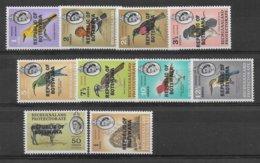 BOTSWANA - YVERT N° 153/160+164+165 * MLH  - COTE = 21.25 EUR. - ANIMAUX De La SERIE - Botswana (1966-...)