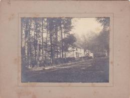 41744 -    Avenue De Tervueren   1898 -  Photo  Sur Carton  12,5  X  9,5 - Tervuren