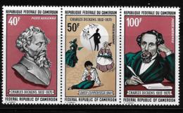 Cameroun Cameroon 1970 Charles Dickens English Novelist MNH - Cameroon (1960-...)