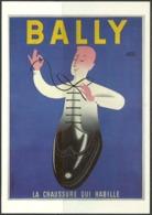 Carte Postale - Affiche - Chaussures Bally - Publicité - TTBE - Non Voyagé - Publicité