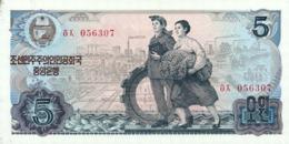 Korea North 5 Won 1978 Pick 19d UNC - Corea Del Nord