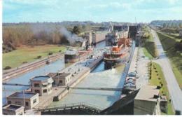 POSTAL   - VAPORES DEL CANAL DE BARCOS WELLAND - Postales