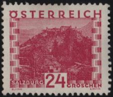 ~~~ Osterreich Austria 1929 - City Views Salzburg- Mi. 505 * MH - CV 50.00 Euro ~~~ - Unused Stamps