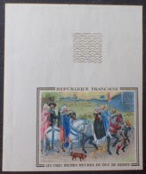 R1591/491 - 1965 - Les Très Riches Heures Du Duc De Berry - N°1457a NEUF** Grand BdF ND - Cote : 100,00 € - Francia