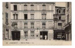 52 HAUTE MARNE - CHAUMONT Hôtel De France - Chaumont